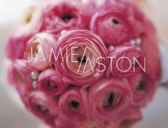 25款漂亮的花店logo设计