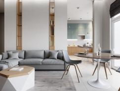 5个简约精致的小公寓装修设计