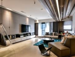 台北230平米现代风格住宅装修设计