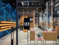 LILA 2眼鏡店空間設計