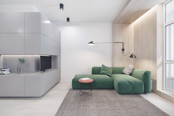 40个极简主义风格的客厅设计