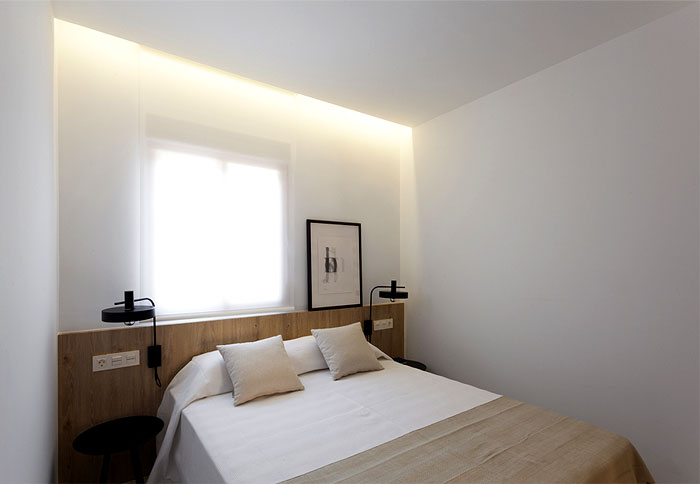 50平米小公寓极简风格装修设计