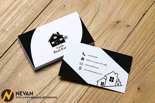 30款国外房地产行业名片设计
