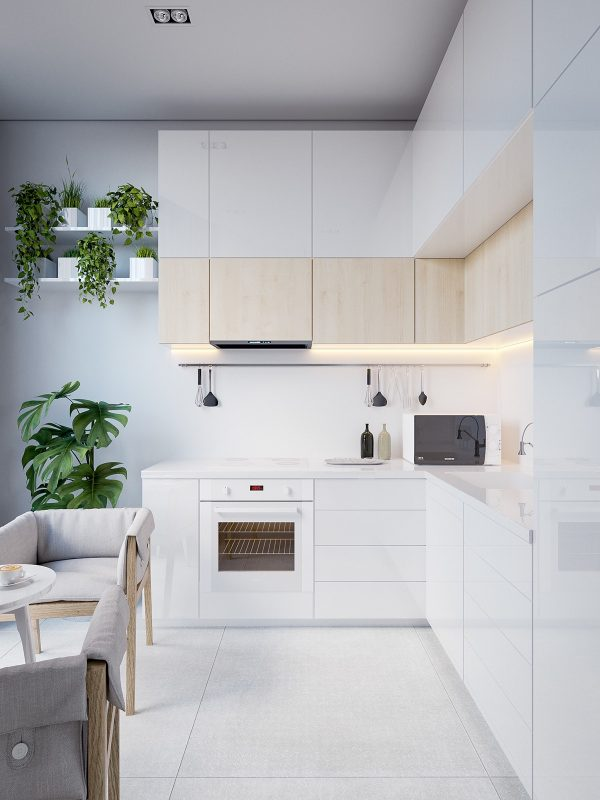 white-eat-in-minimalist-kitchen-600x800.