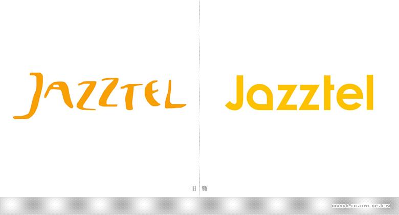 西班牙第二大电信运营商Jazztel启用新LOGO