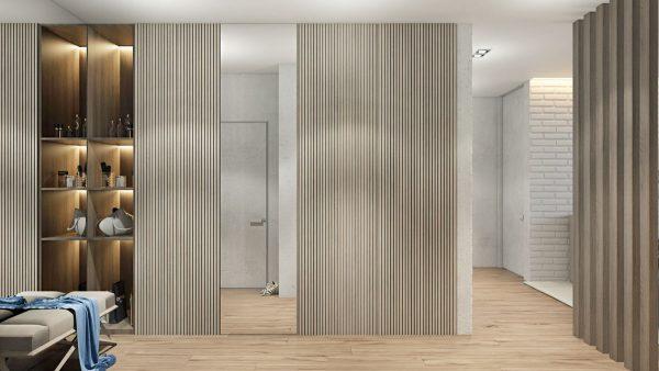 2个简约舒适的一居室公寓设计