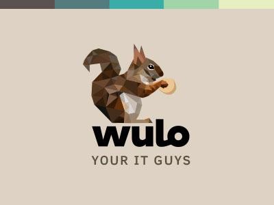 标志设计元素应用实例:松鼠