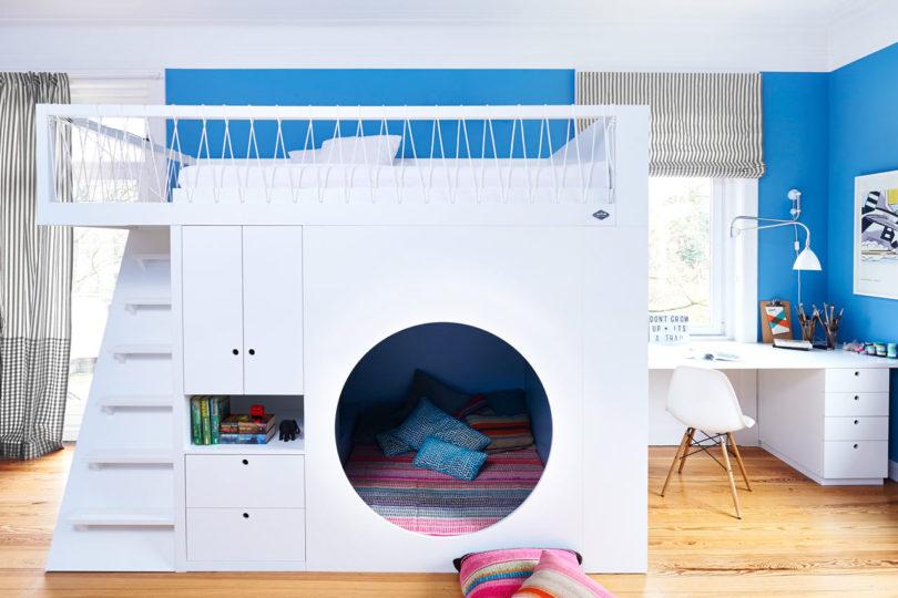 10个双层床儿童房装修设计 设计之家