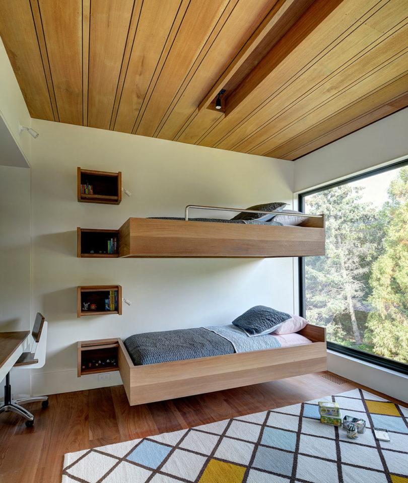 201711: 10个双层床儿童房装修设计