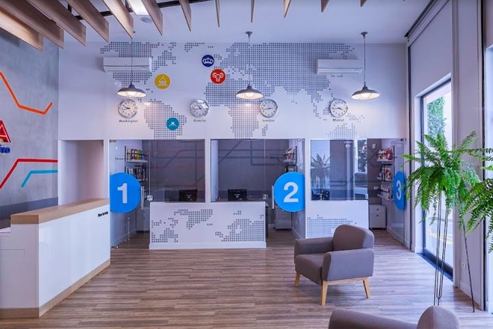 巴西CNA英语培训学校室内空间设计