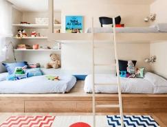 10个双层床儿童房装修设计