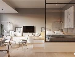 3个小公寓的空间最大利用
