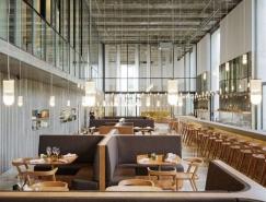 巴黎精致优雅的LES GRANDS VERRES现代餐厅