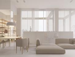 40个极简主义风格的客厅BB彩票官网