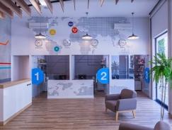 巴西CNA英語培訓學校室內空間設計