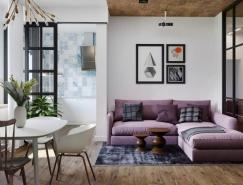 空间的充分利用:俄罗斯Tolyatti伏尔加河岸公寓设