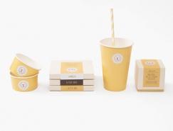 Vanilla Milano冰淇淋店视觉形象