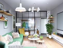 舒服的色彩搭配:北欧风现代家居装修设计
