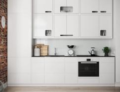 40个时尚而简约的现代厨房设计