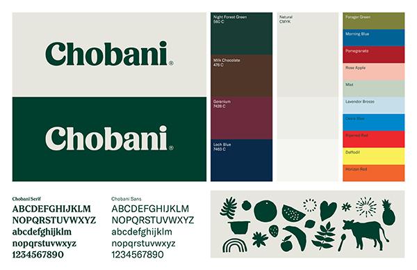 美国酸奶领导品牌Chobani更新LOGO及品牌形象