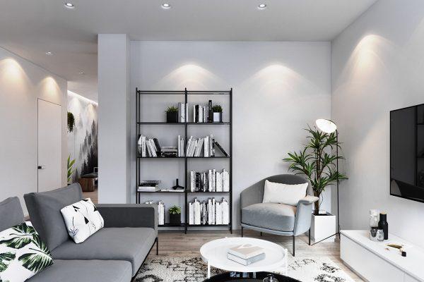 北欧现代极简风格家居装修设计