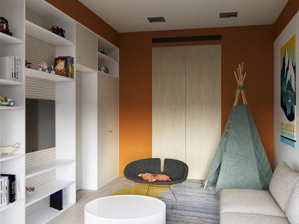 时尚现代的年轻家庭装修设计
