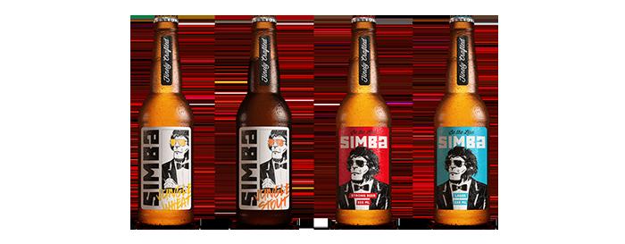 Simba啤酒包装设计