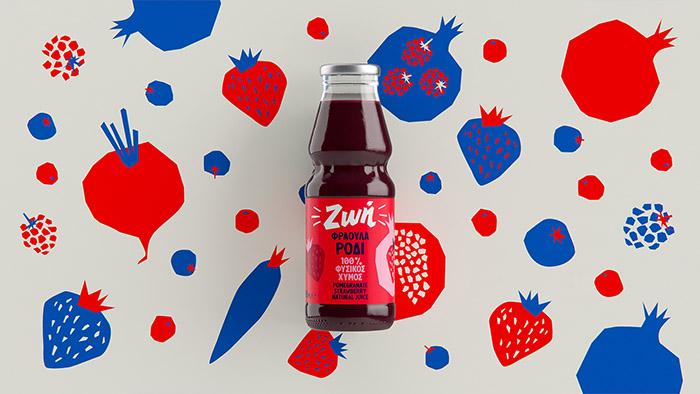ZOE果汁包装设计