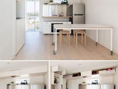 50个现代时尚的小公寓设计