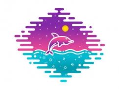 40款鱼logo设计作品