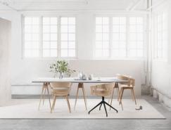 40个极简风格家居餐厅设计