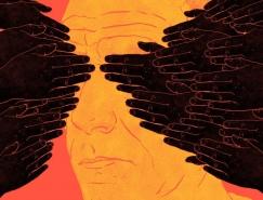 Jim Cooke意味深长的讽刺插画皇冠新2网