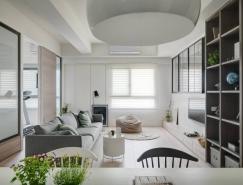 素雅舒适的三居室装修设计