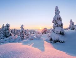 挪威摄影师分享∑ 拍摄冬日风光的小建议