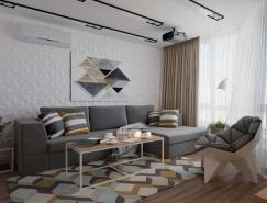舒适极简风格的环保公寓设计