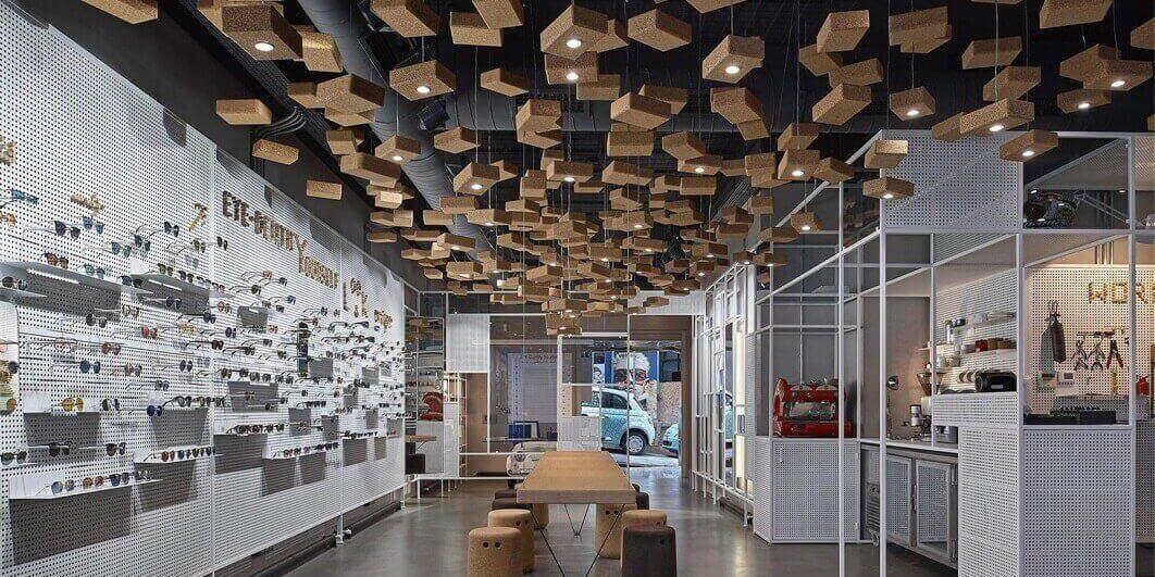 不只是眼镜店 伊斯坦布尔EYE-D多功能空间设计