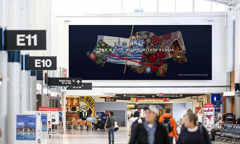 致敬至上主义,俄罗斯推出国家旅游品牌LOGO