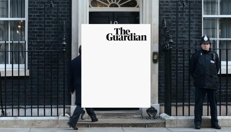 英国《卫报》更换新LOGO