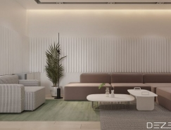 淡彩素雅的3個時尚公寓裝修設計