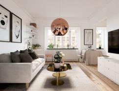 4个小户型公寓的精巧空间利用