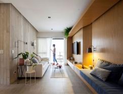 Garu现代时尚的公寓设计