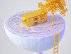 日本Kota Yamaji超现实主义插画艺术