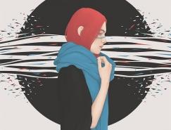 Yuschav Arly女性人物插画欣赏