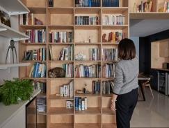 135平米兼具理性与感性的阅读者住所