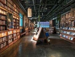 韩国网上书店YES24线下书店设计