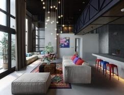 50个现代客厅设计欣赏