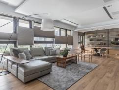 簡約開放式布局的家居裝修設計