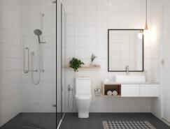 40个极简风格卫生间装修设计