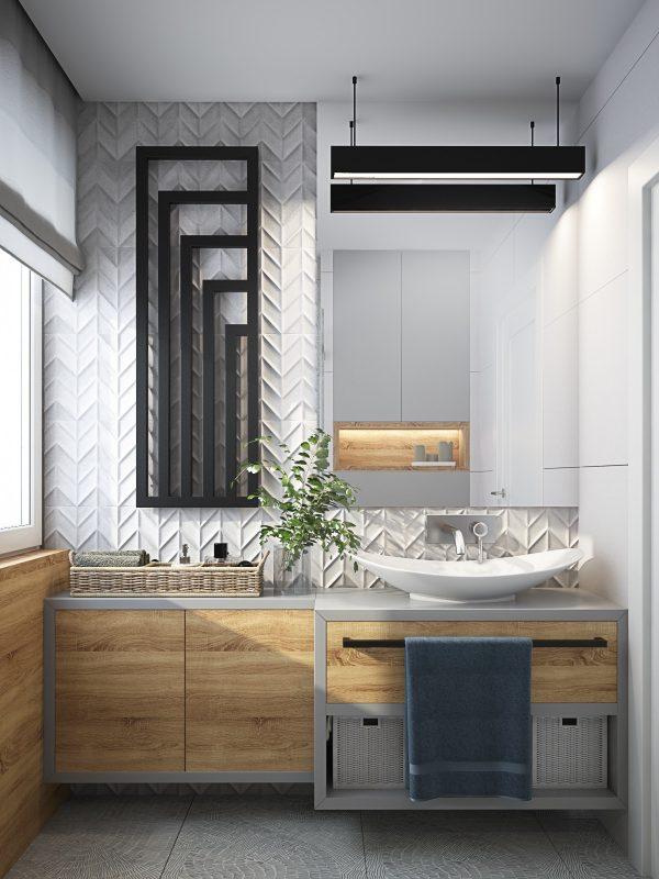 40个精致漂亮的现代卫生间设计