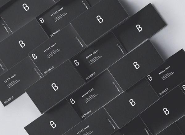 30款黑白简约名片设计